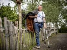 Eenbenige Karel (64) uit Albergen heeft dubbel pech door corona