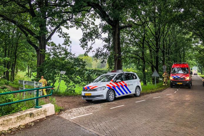 Overleden persoon gevonden in kanaal Eindhoven