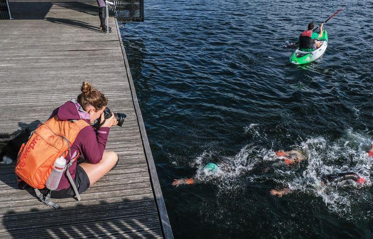 Het zwemgedeelte van de Izegemse triatlon vindt dit jaar niet plaats in het kanaal Roeselare-Leie, maar in De Gavers.