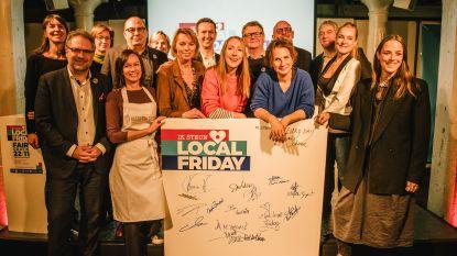 Lokaal shoppen op vrijdag: nieuw sensibiliseringsproject Local Friday ondersteunt lokale ondernemers