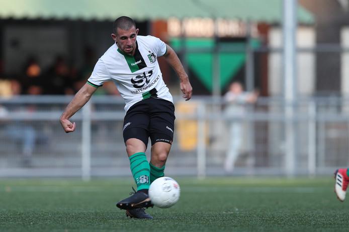 Nabil Haddadi hoopt vandaag tegen Katwijk in de basisopstelling te staan.