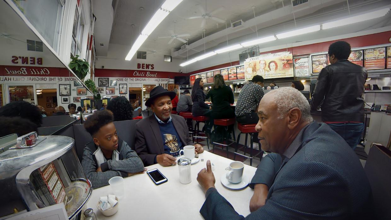 Ben's Chili Bowl in Washington is een plek waar Afro-Amerikanen zich veilig kunnen voelen. Beeld Felix & Paul Studio / Eye Filmmuseum