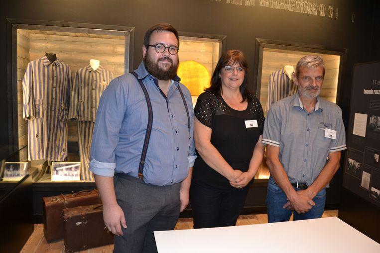 Coördinatoren Tom, Katrin en Marc van het Museum44