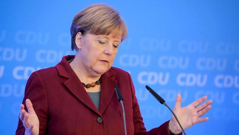 Bondskanselier Angela Merkel: