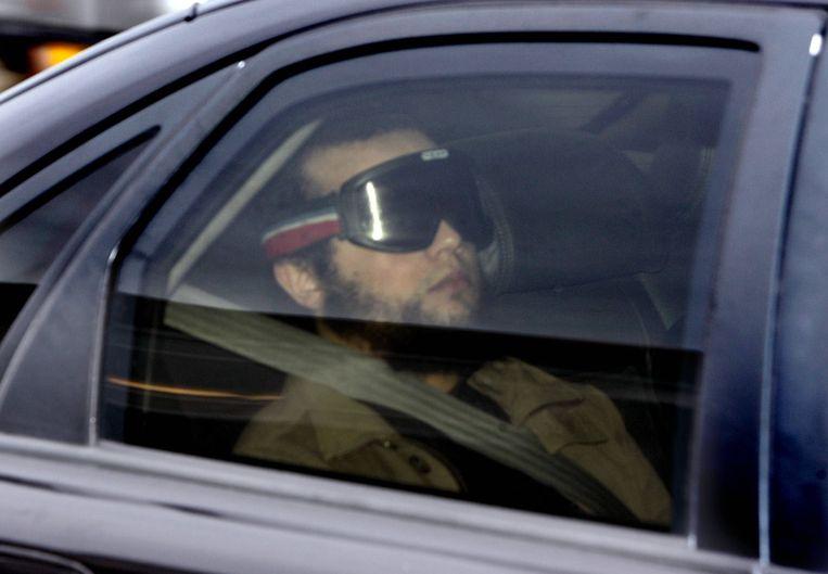 Mohammed B., de moordenaar van Theo van Gogh.   Beeld AFP