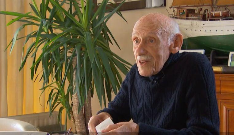 Paul, Auschwitz-overlevende in VTM Nieuws