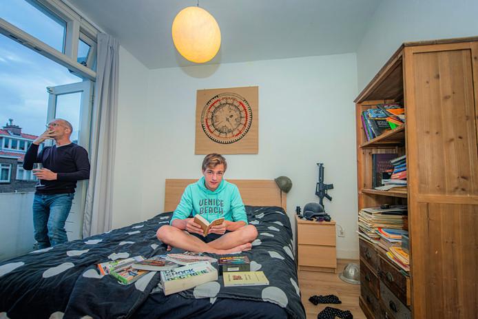 Simon Coopmans (17) uit Voorburg