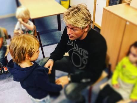 Thomas Berge een beetje emo en Nicolette Kluijver verwent haar gezin
