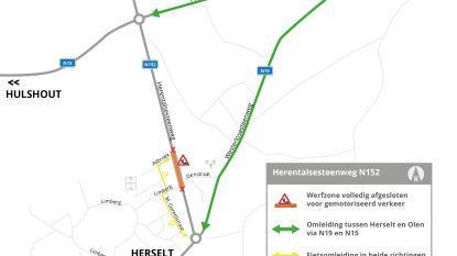 Herentalsesteenweg krijgt veilige oversteekplaatsen en nieuwe bushaltes