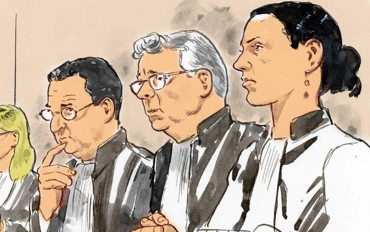 De rechters Beeld ANP
