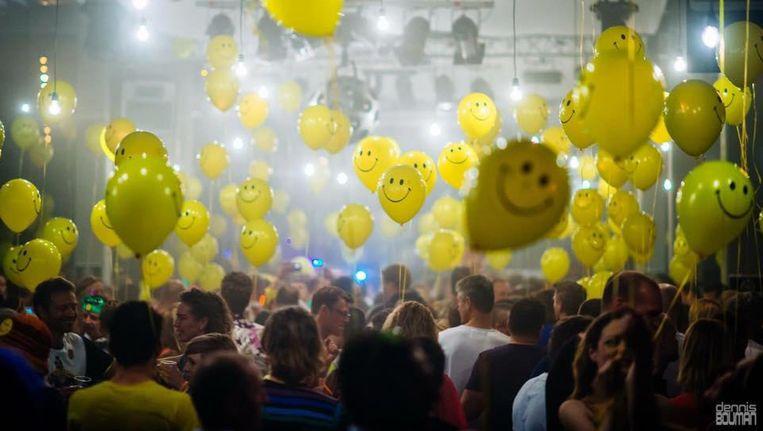 Dit weekend viert Owap een intieme editie, maar de ballonnen kunnen áltijd. Beeld Marktkantine