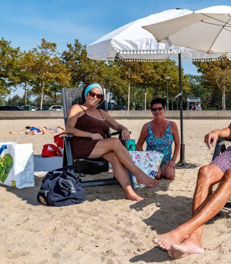 Lekker nazomeren in je strandstoel, bij het 'Ibiza van Bergen'