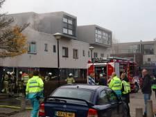 Keukenbrand aan de Guldendreef in Woerden trekt veel kijkers