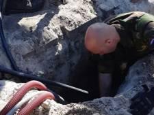 Oorlogsmunitie gevonden op boerenerf in Raalte tijdens bouwen van stal