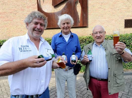 Wim van der Linden, Herman Marres en Theo Tiebosch.