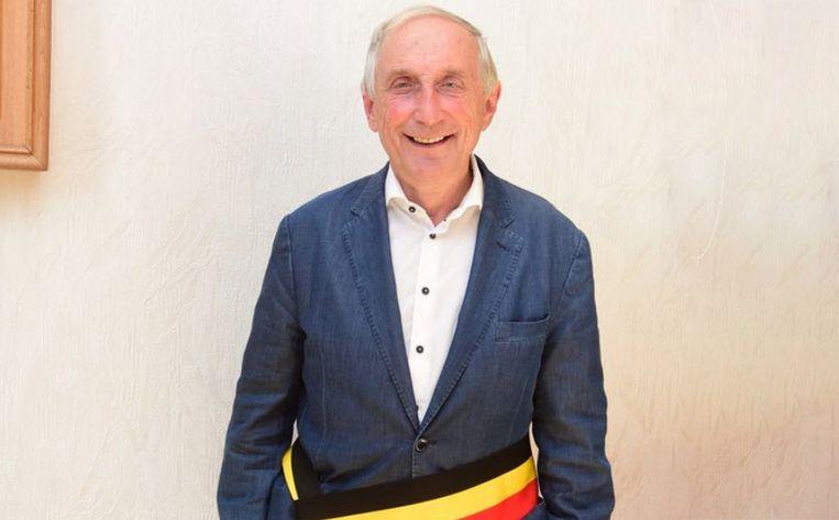 Burgemeester Michel Doomst.