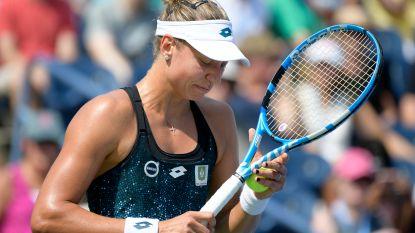 Yanina Wickmayer grijpt naast nieuwe titel in dubbelspel