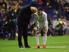 """Eden Hazard souffre d'une fissure du péroné droit, Martinez """"inquiet"""""""