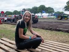 Celine 'vreemde eend' tijdens Trekkerslep Balkbrug