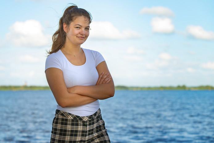 Anna Spijkervet neemt afscheid als jeugdbestuurder van het waterschap. ,,Ik ga iets technisch studeren.''