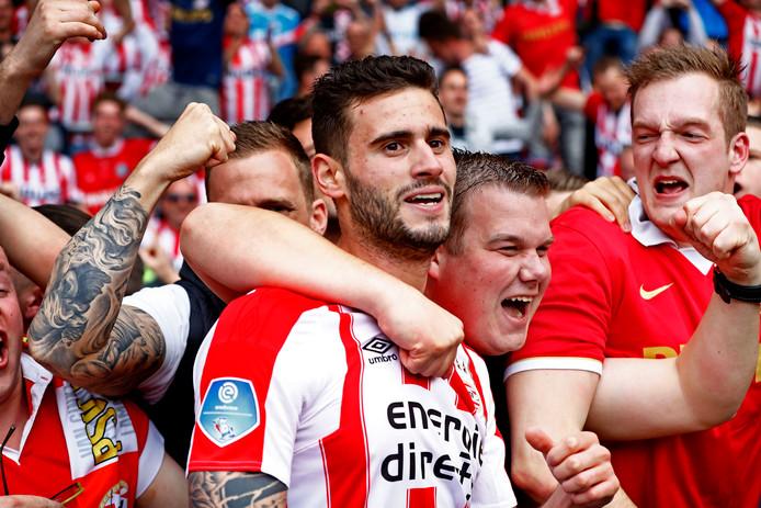 Gastón Pereiro maakte de afgelopen jaren veel PSV-supporters blij met zijn goals.
