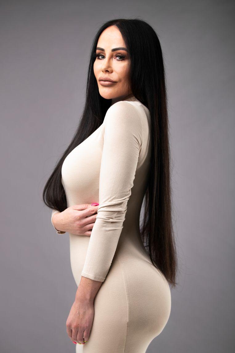 Kylie Jenner look-alike  Beeld Lisa Wals