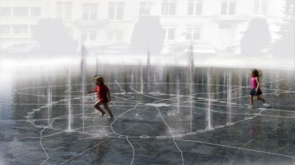 Fontein Hooverplein klaar tegen zomer