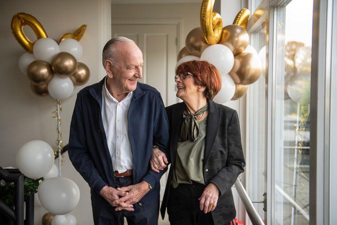 Mieke en Gerrit Hoft-Korte hebben warme herinneringen aan de vakanties.
