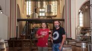 Brouwerij geïnstalleerd in Heilig Hart Kerk van Kwatrecht