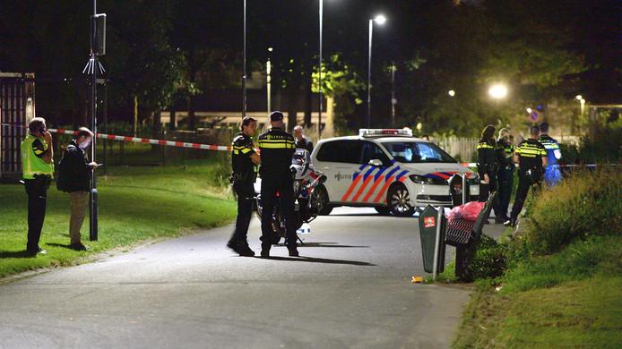 Een 30-jarige Bredanaar is in de nacht van zondag op maandag opgepakt op verdenking van het neersteken van drie kinderen in het Westerpark in Breda. Bij de steekpartij raakte een jongen zwaargewond doordat hij meerdere keren in zijn rug werd gestoken. Een andere jongen werd in zijn nek gestoken en een meisje in haar been.