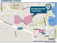 Zonnepark tussen kassen Schoneveld Breeding stap dichterbij