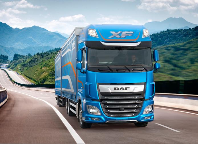 DAF gaat na de zomer onder meer deze XF Super Space Cab produceren.