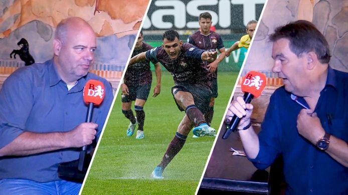 Clubwatchers Max van der Put en Wilber Hack bespreken de week van Willem II