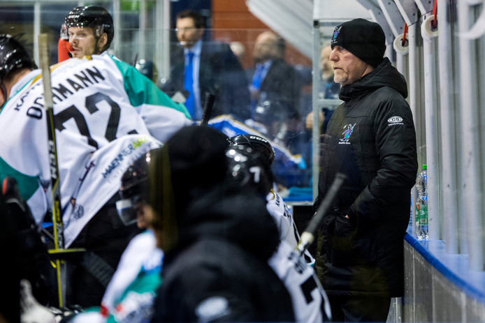 Trainer Frank Gentges, hier nog in dienst van Oberliga-team Moskitos Essen.