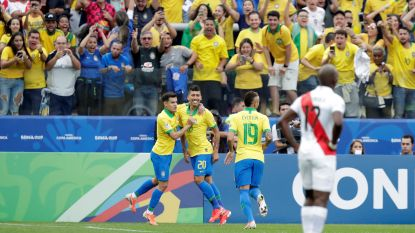 Finale Copa América: Brazilië wil vanavond blamages van voorbije grote toernooien doen vergeten
