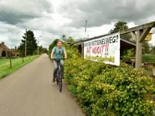 Snelfietsroute is in de maak; protesten langs de route en hobbels in de weg