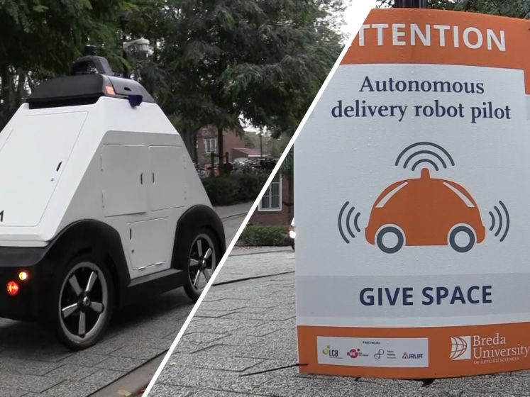 Test met bezorgrobot in Brabant: 'Het gaat in een stroomversnelling'
