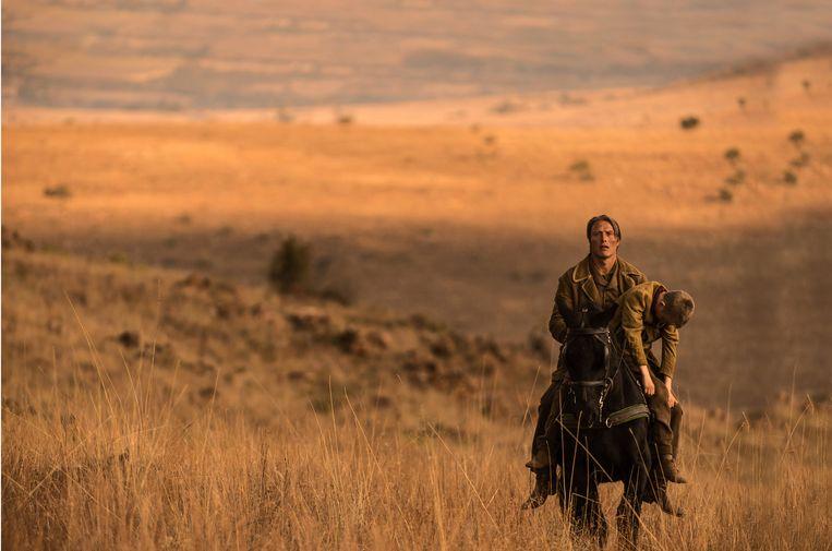 Mikkelsen in The Salvation. Beeld September Film
