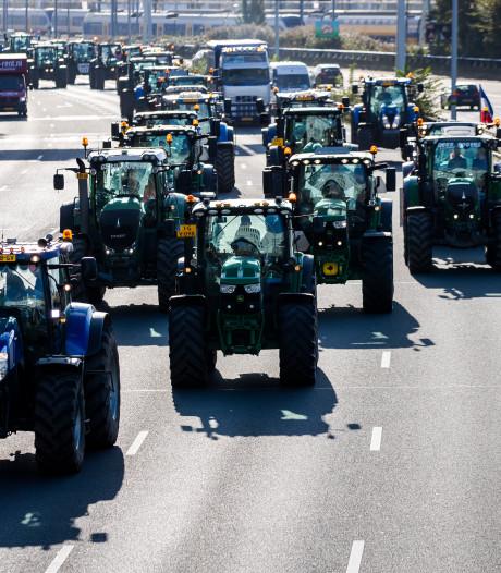LIVE | Trekkers massaal op weg naar Den Haag, A12 bij Nootdorp en Koningstunnel dicht