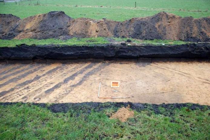 In het Zilverzandtrace zijn archeologische vondsten gedaan. Foto Raap