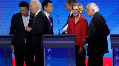 Buttigieg en Sanders onder vuur tijdens nieuw Democratisch debat