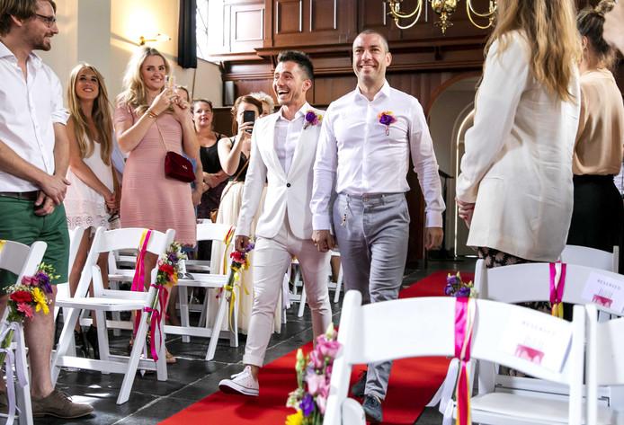 Stellen kunnen hun huwelijk of geregistreerd partnerschap in Kapelle voortaan digitaal regelen.