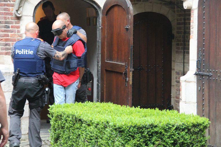 Marco L., verdachte voor de moord op gevangenisverpleegster Christine Lenaerts.