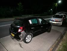 Dronken automobilist rijdt geleende auto total loss in Huissen