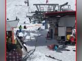 Gewonden door defecte skilift