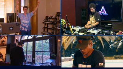 Dimitri Vegas en Lost Frequencies spelen mini-Tomorrowland vanuit hun kot