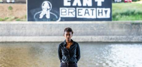 'I can't breathe' muurschildering is manier om gesprek los te maken