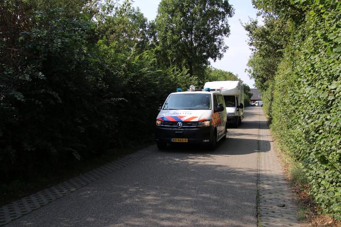 De verdachten werden betrapt in een camper met valse kentekenplaten.