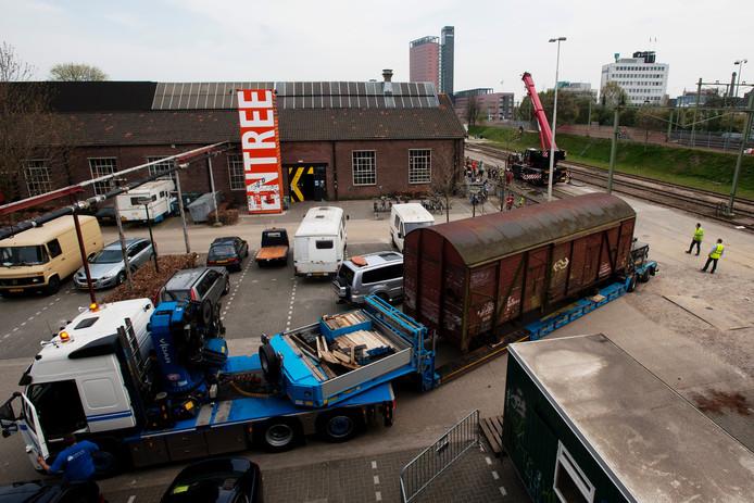 'Operatie Treinstel' Foto Jeroen de Jong/PVE
