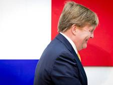 Koning opent expositie 'Mondriaan en Van der Leck' in Den Haag
